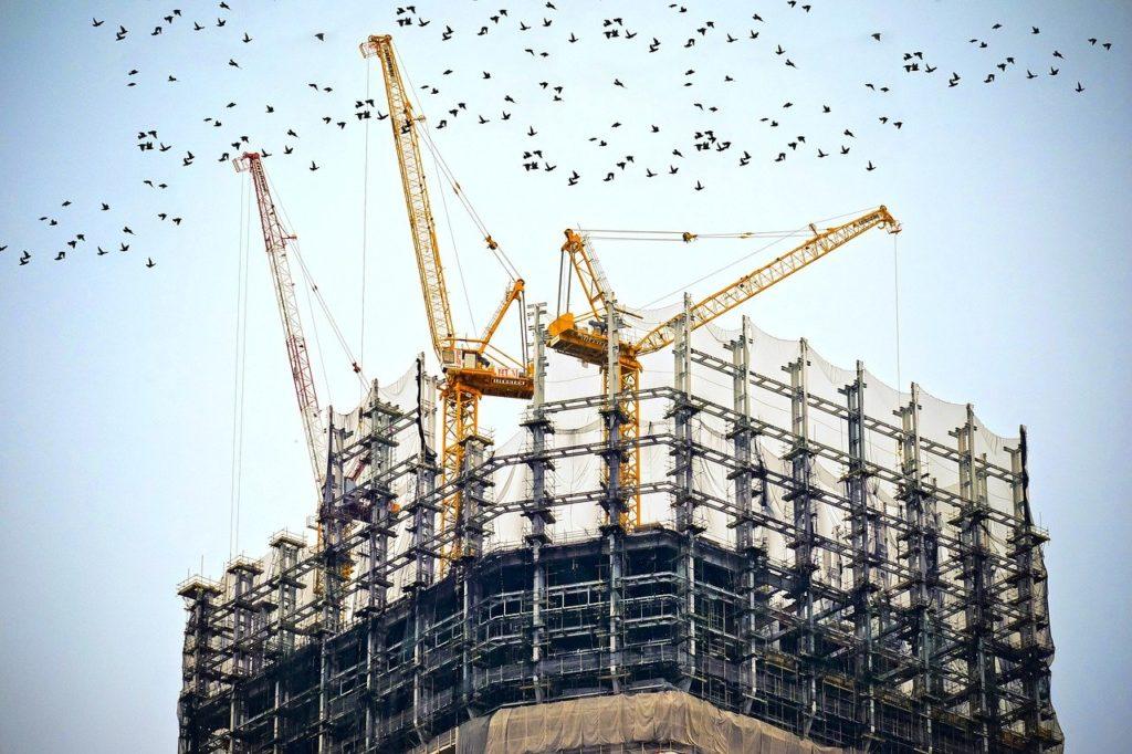 עבודות בגובה בניין